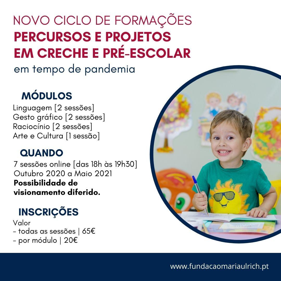 PERCURSOS E PROJETOS EM CRECHE E PRÉ-ESCOLAR-2