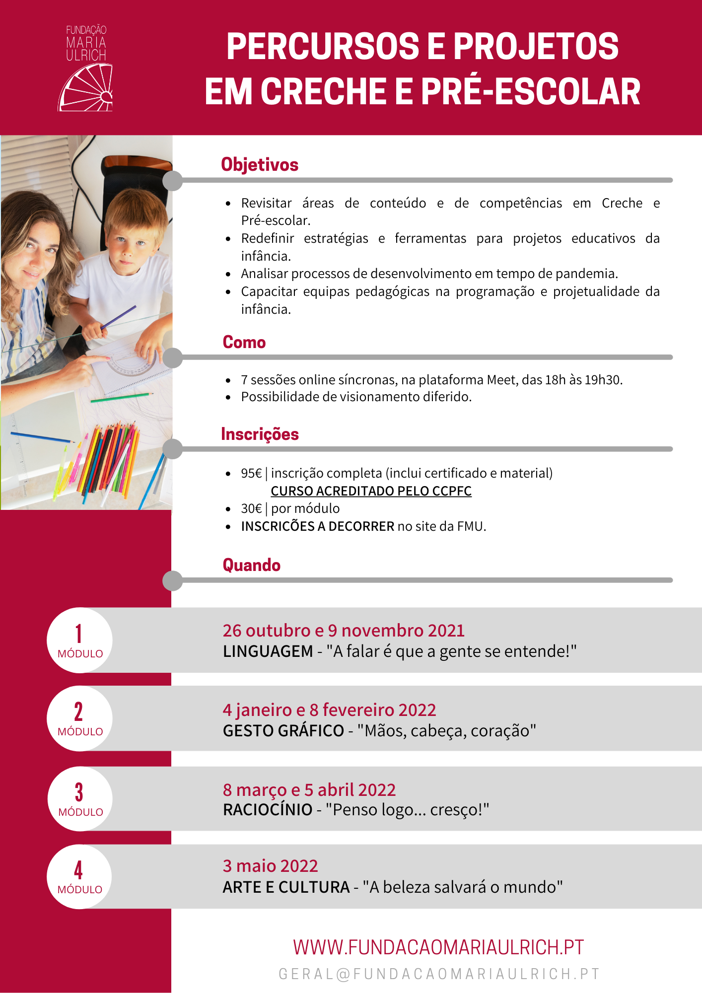 202122- Percursos e Projetos em creche e pré-escolar